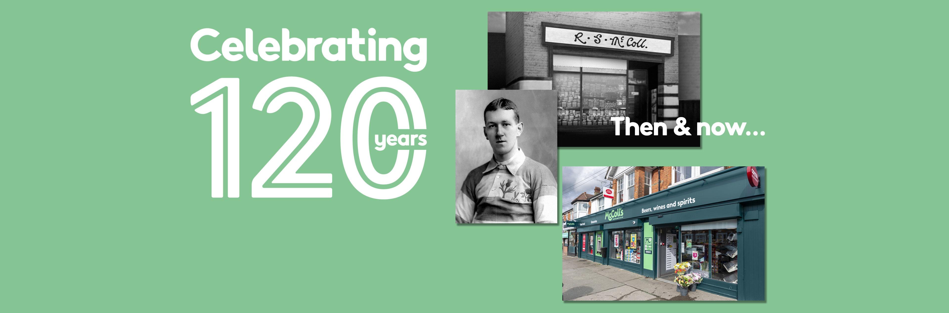 McColl's 120th Anniversary
