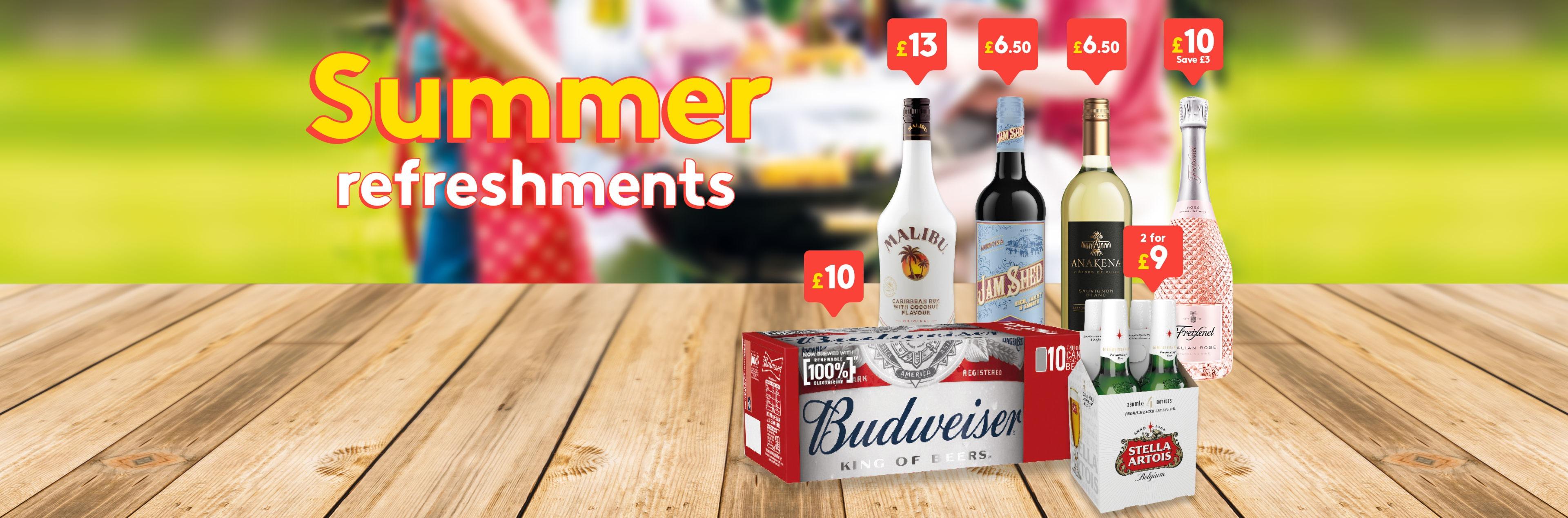 Summer Refreshments 2021