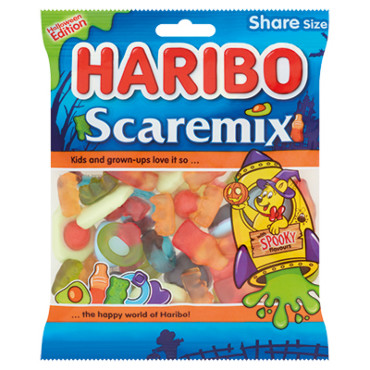 Haribo Halloween Edition Scaremix Bag 175g
