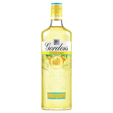 Gordons Sicilian Lemon Distilled Gin 70cl