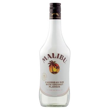 Malibu Caribbean Rum With Coconut Flavour Original 70cl