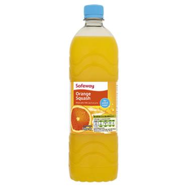 Orange Squash No Added Sugar 1L