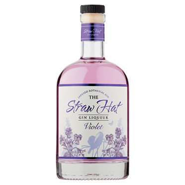 The Straw Hat Violet Gin Liqueur 50cl