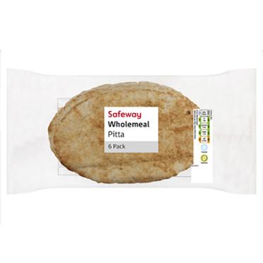 Wholemeal Pitta 6pk
