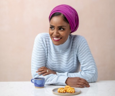 Nadiya Hussain's Mother's Day Bake