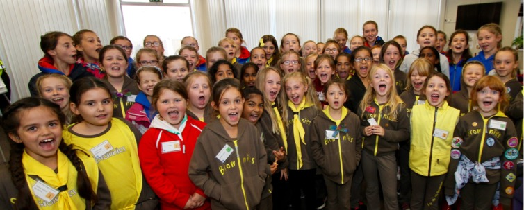 McColl's Retail Support Centre  Supports Local Girl Guide Event