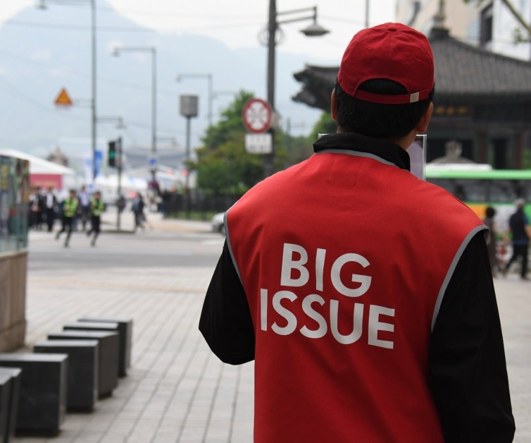 We're Now Stocking The Big Issue To Support Vendors